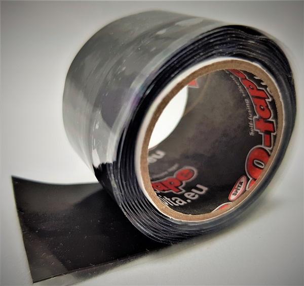 ResQ-tape Quick Repair 25 zwart