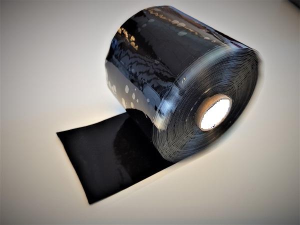 ResQ-tape Heavy Duty 76 zwart